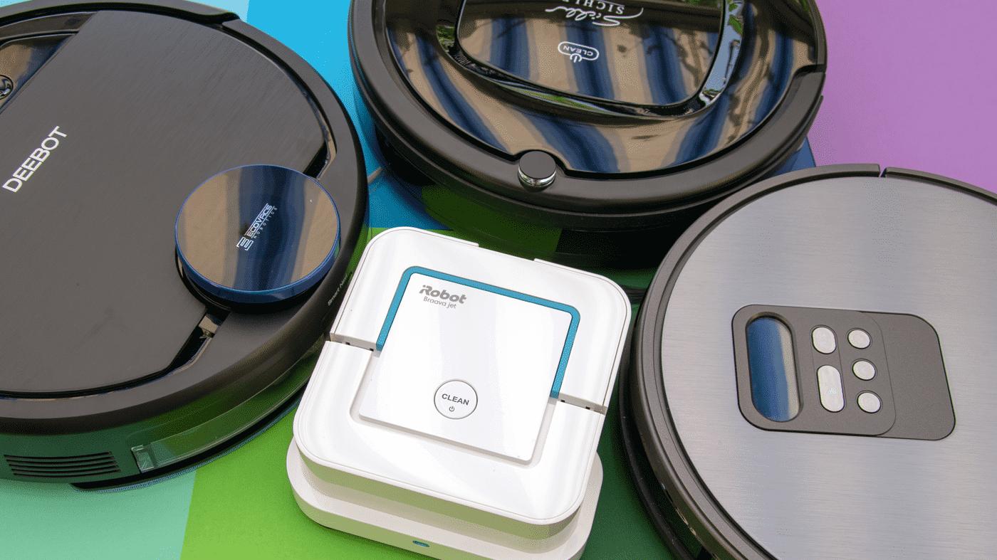 iRobot und Co: Vier Wischroboter im Vergleichstest
