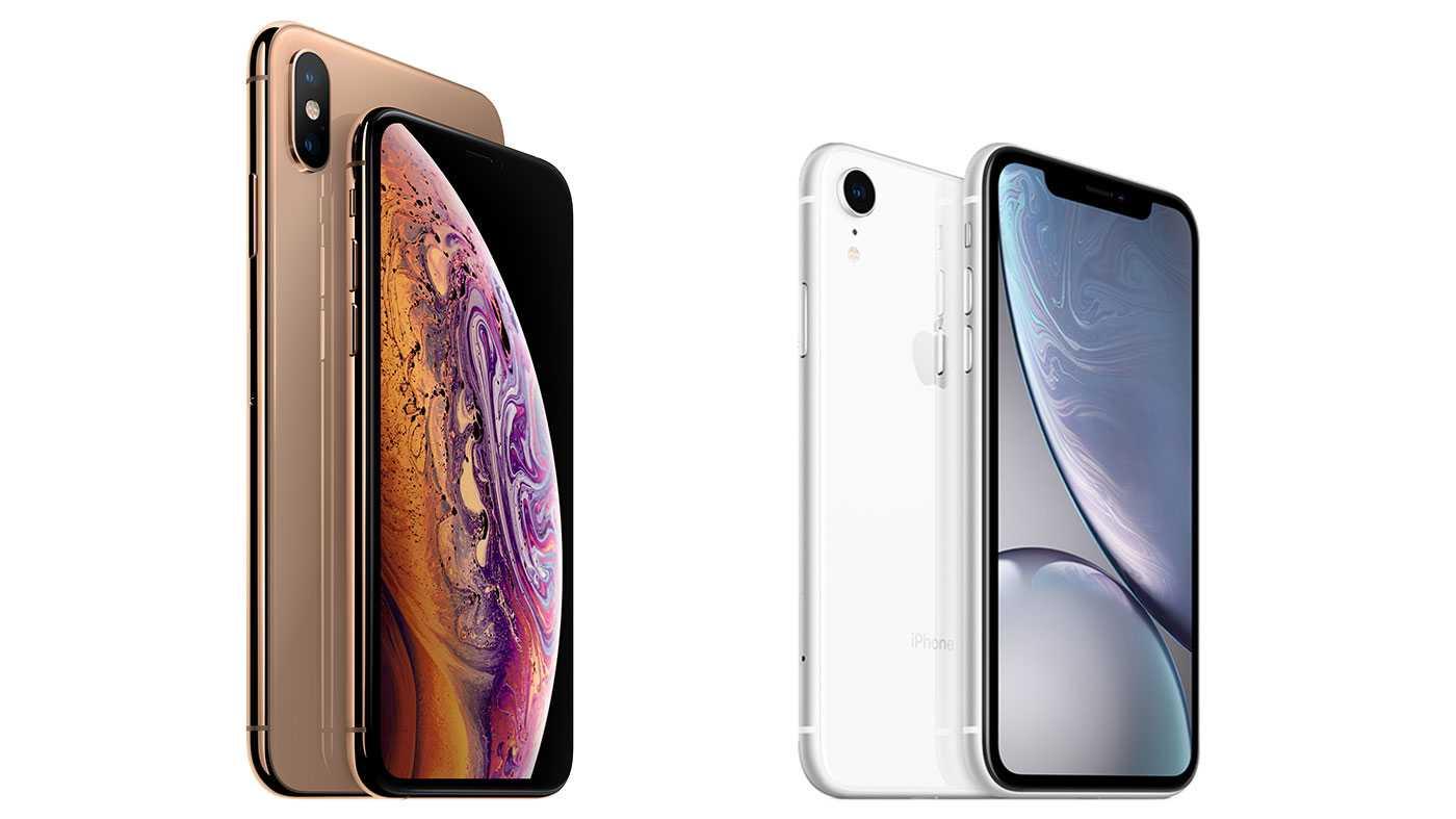 Das iPhone Xs Max und das iPhone Xs.