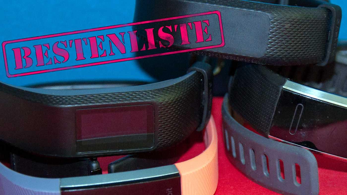 Bestenliste: die Top 5 der besten Fitness-Tracker!