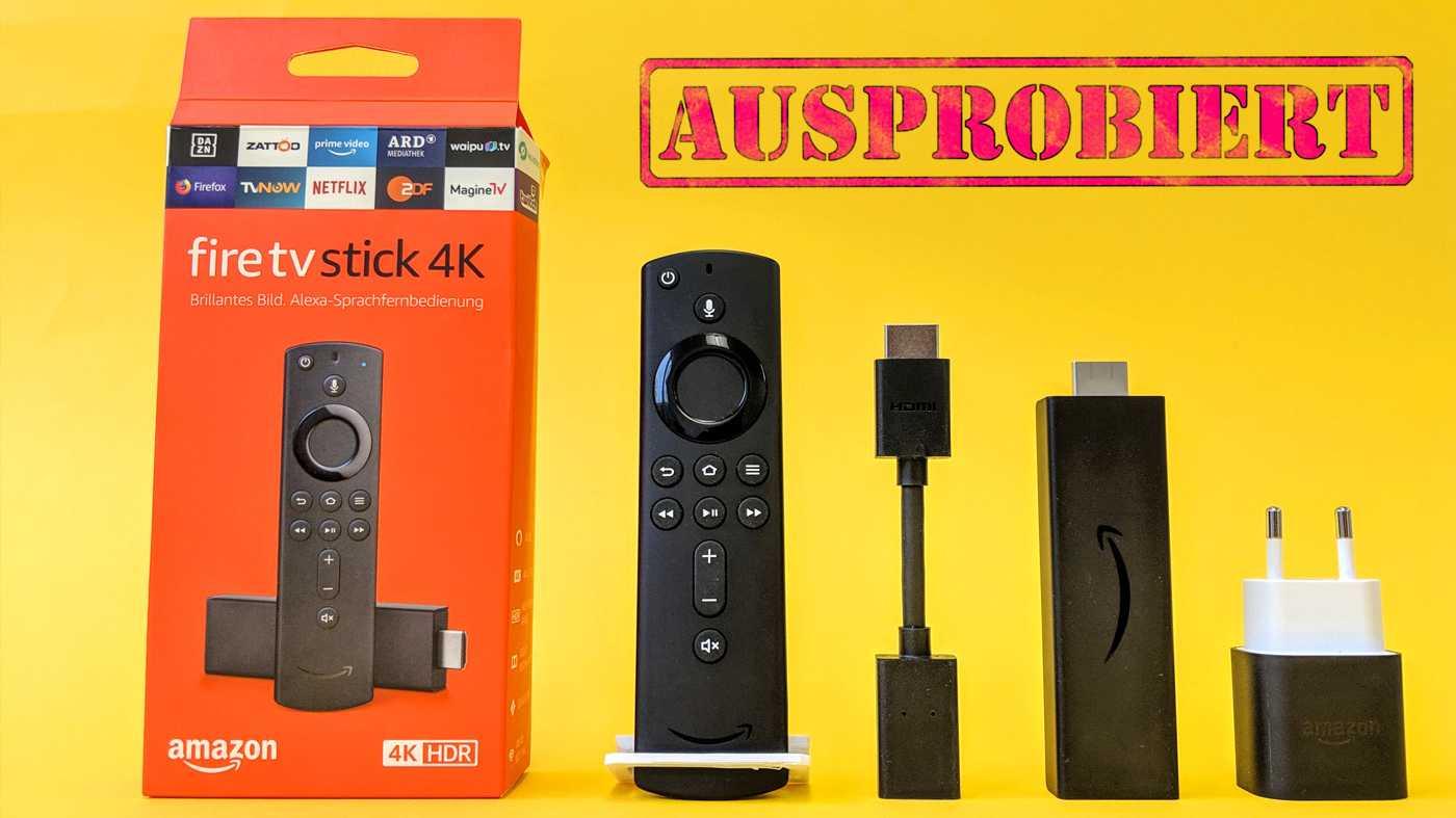 Test Amazon Fire TV Stick 4K – UHD-Streaming für 60 Euro