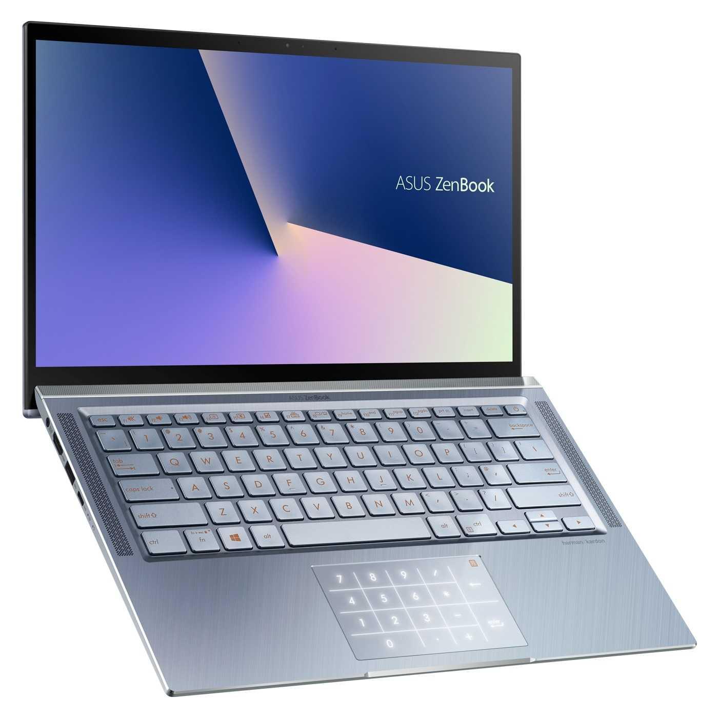 Das Touchpad des ZenBook 14 lässt sich whalweise als Ziffernblock verwenden.