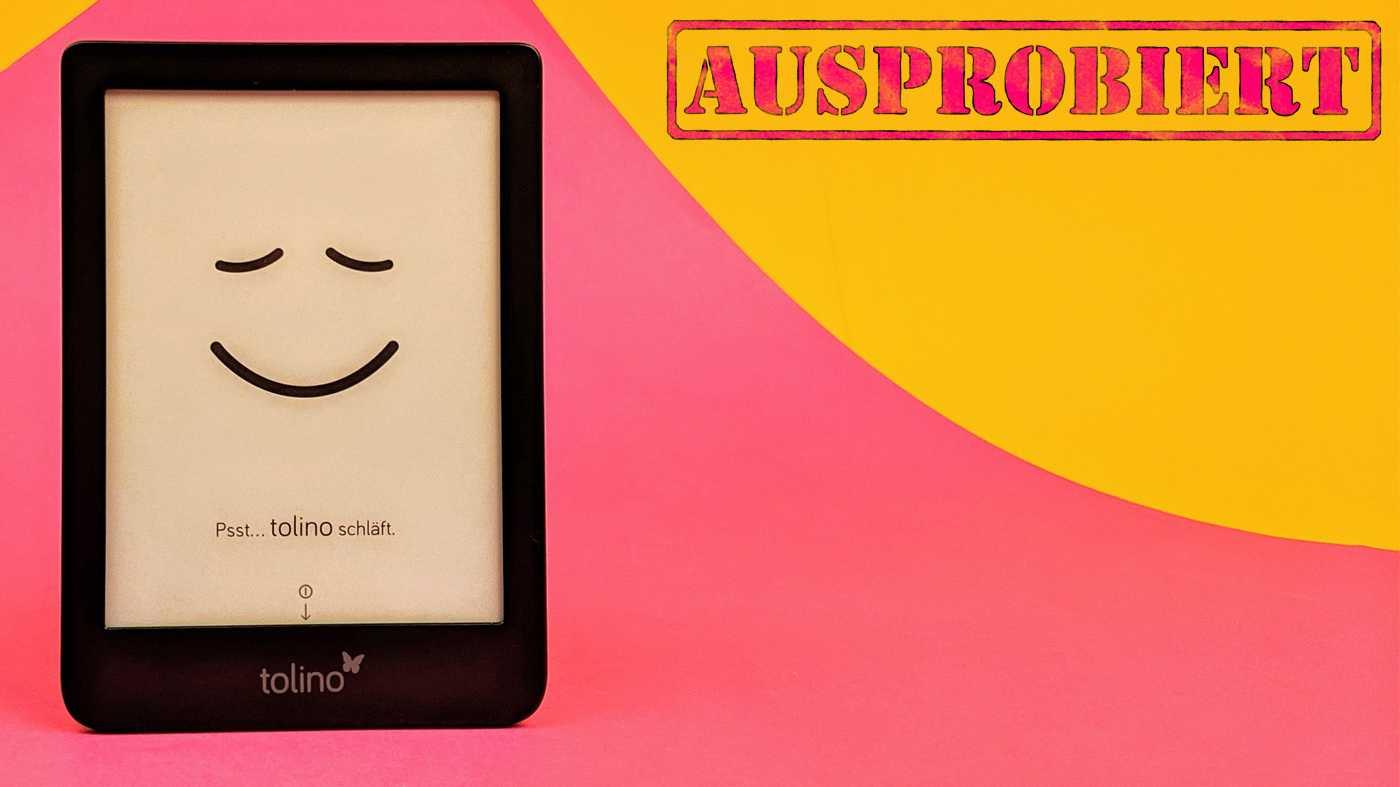 Test E-Reader Tolino Shine 3: klein, günstig, sehr gut