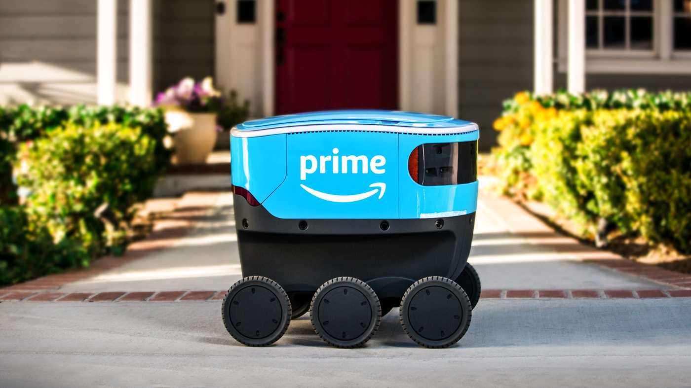 Amazon Scout: Autonomer Lieferroboter bringt Pakete