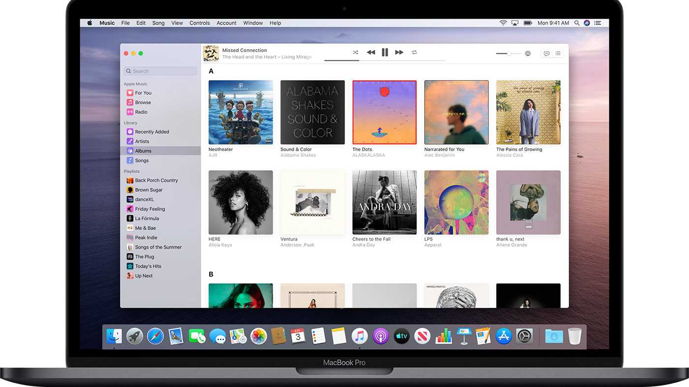Apple Music Catalina