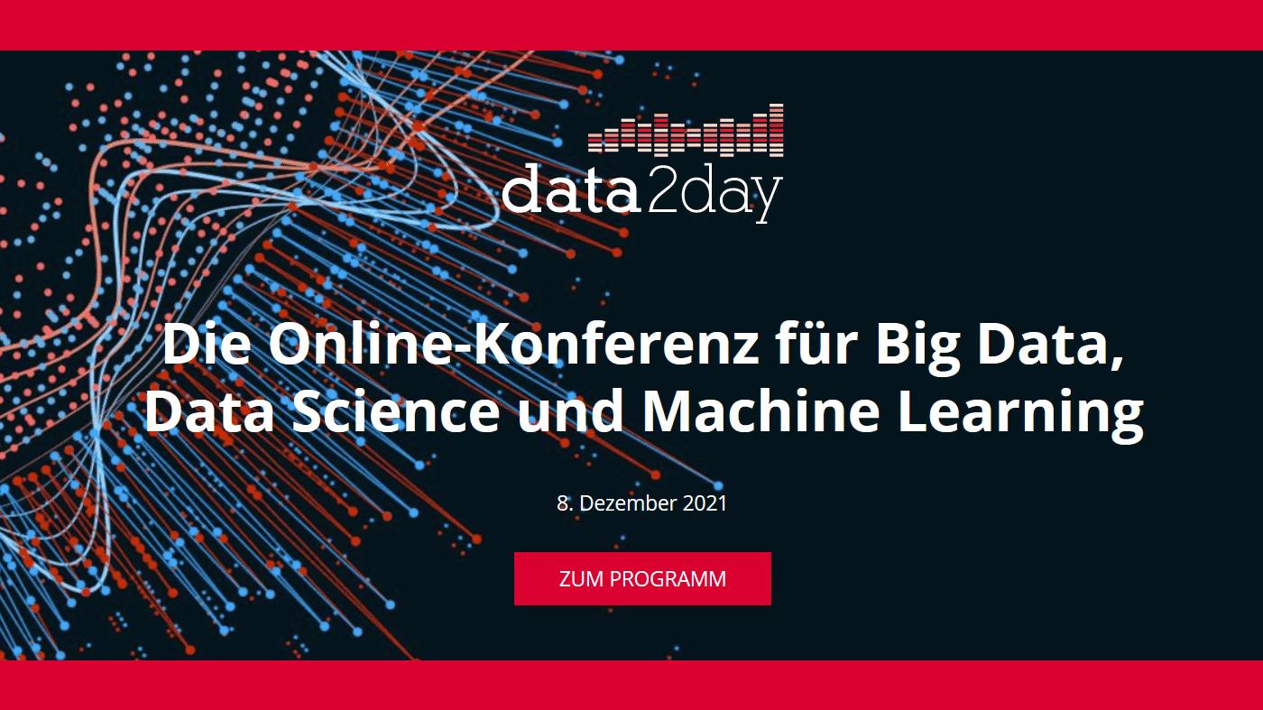 data2day 2021: Von den Daten zum daten-getriebenen Unternehmen