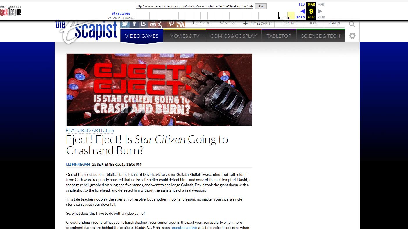 Spielejournalismus: Star-Citizen-Entwickler lassen kritischen Pressebericht löschen