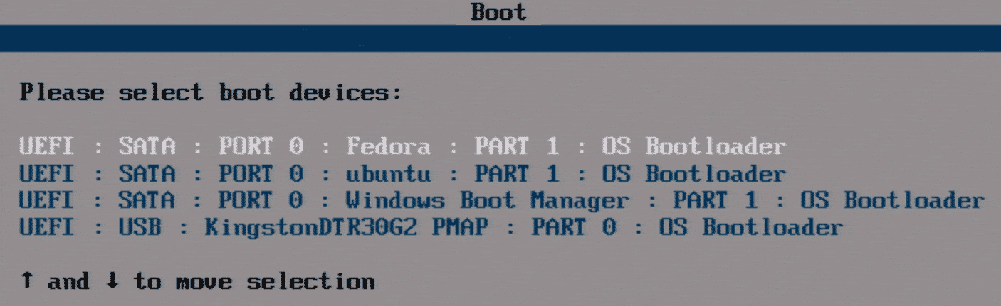 Viele Tücken bei der Parallelinstallation von Linux-Distributionen können Sie vermeiden, wenn Sie per UEFI booten und das zu startende Linux gleich im Boot-Menü des BIOS wählen.