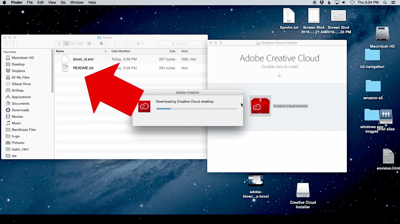 OS X: Creative-Cloud-Installer löscht Dateien ? Adobe zieht zurück
