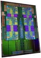 Die-Shot einer Hexa-Core-CPU von AMD