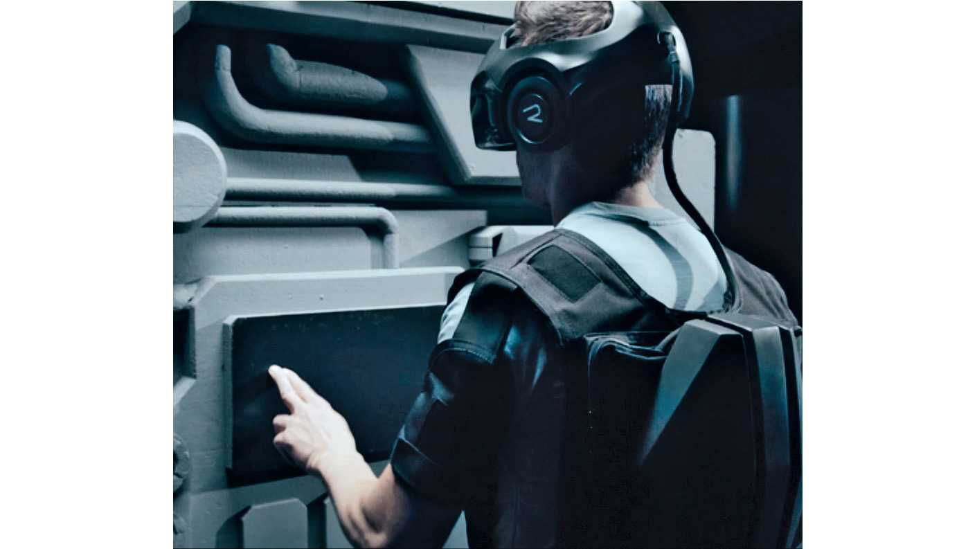 VR aus dem Rucksack