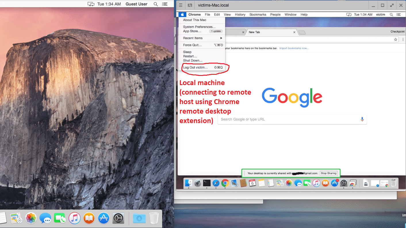 Chrome Remote Desktop Mac