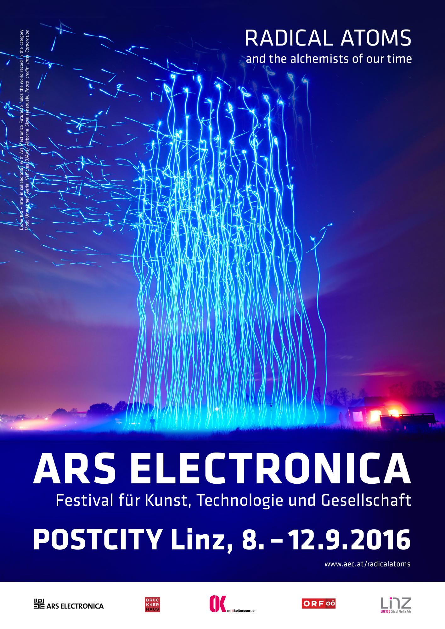Ars Electronica Festival 2016 RADICAL ATOMS and the alchemists of our time