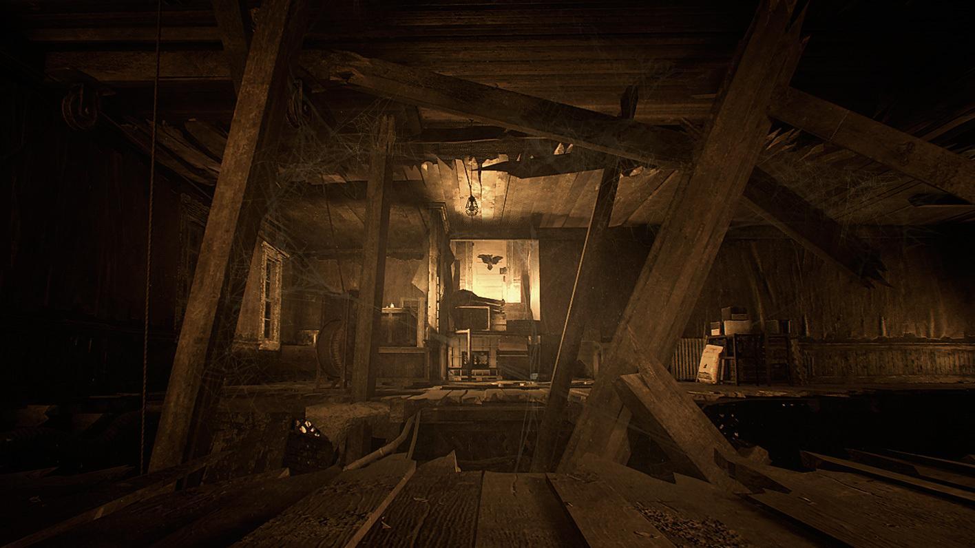 """""""Resident Evil 7: Biohazard"""" findet vor allem in einem verfallenen Farmhaus und dem umliegenden Gelände statt."""