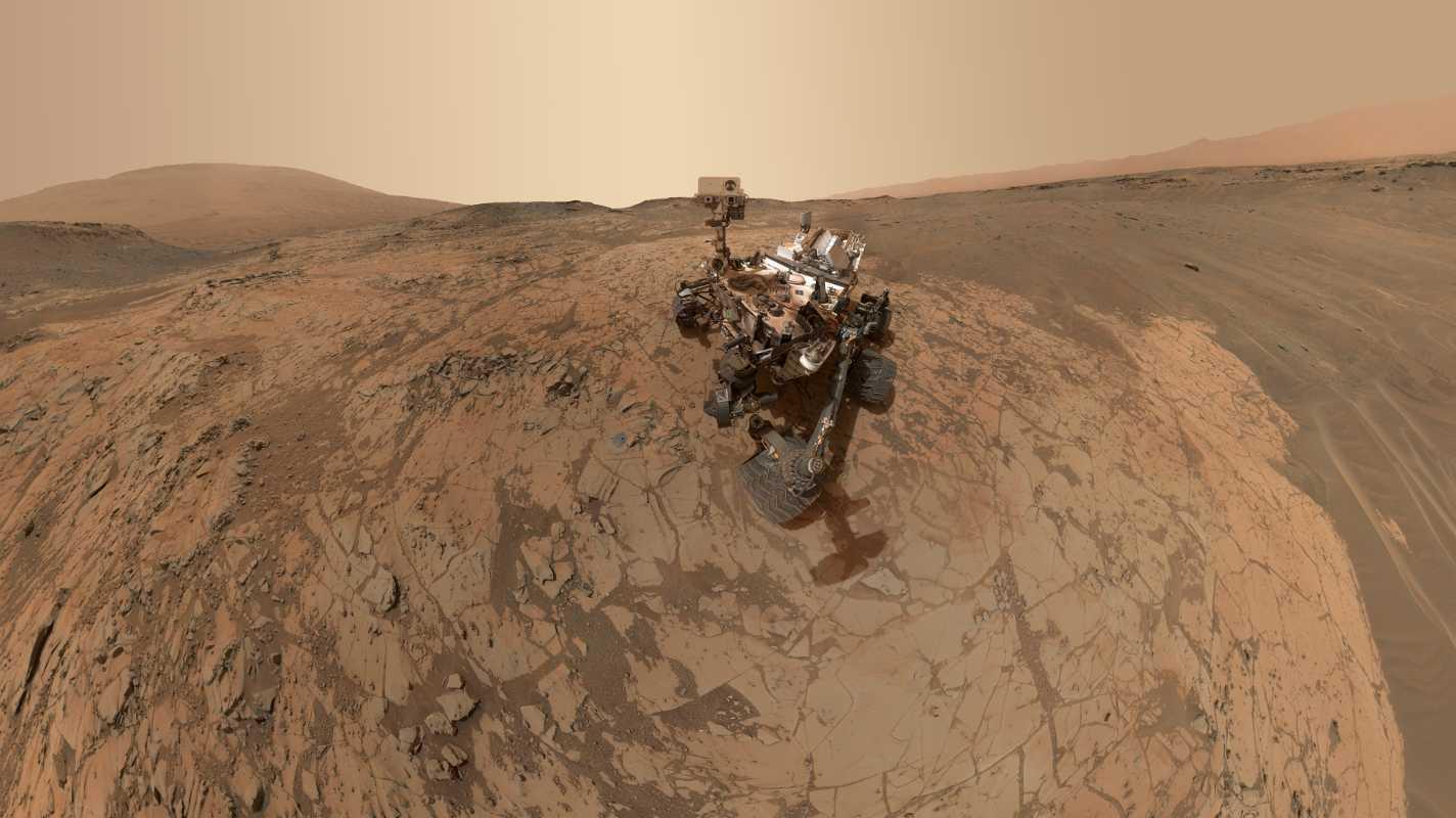 NASA-Rover: Curiosity macht neues Selfie auf dem Mars