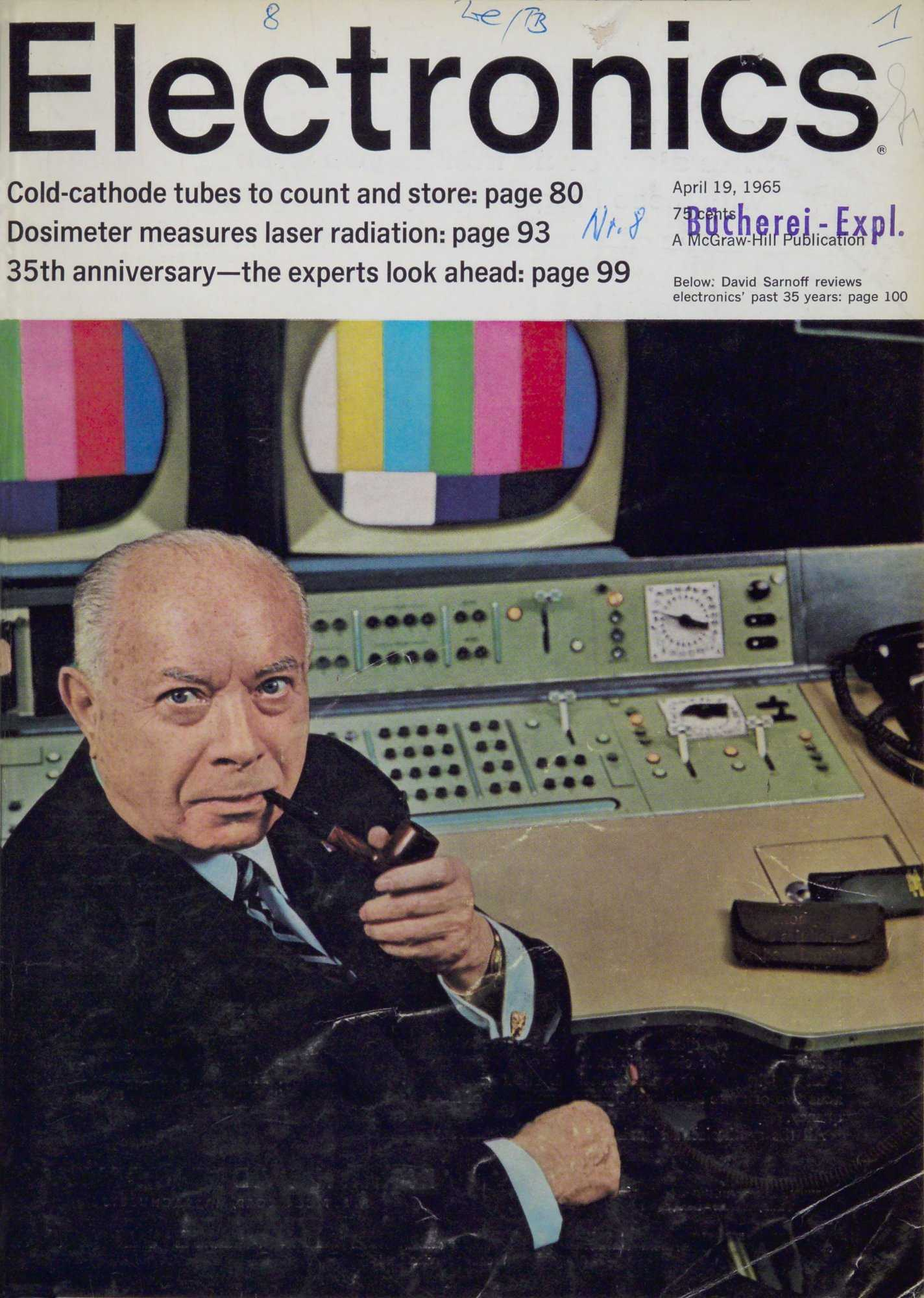 Electonics 19. April 1965