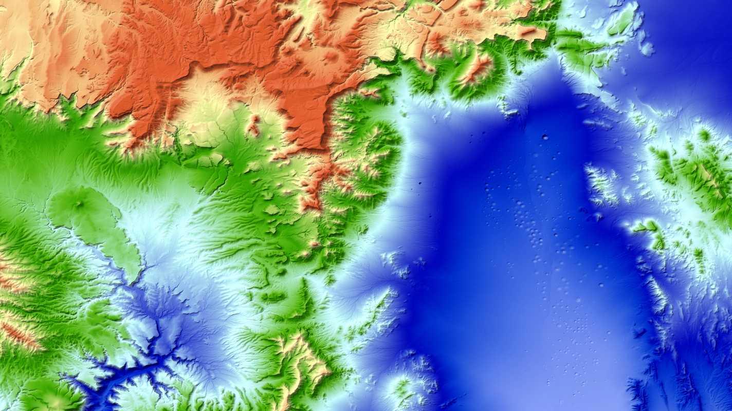 Tandem-X fertig: DLR erstellt bislang genauestes Höhenmodell der Erde