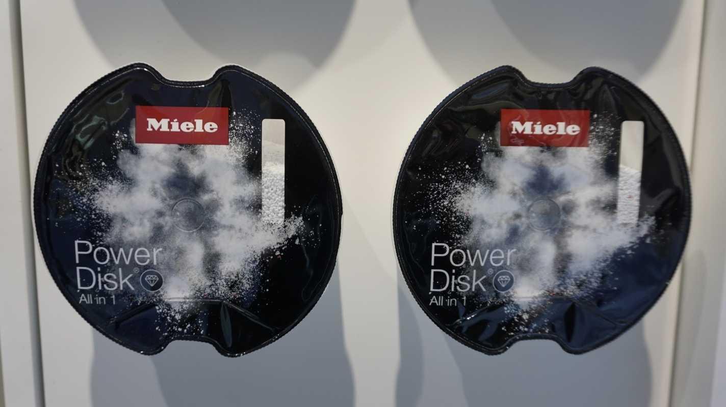 Das neue Tintengold: Powerdisk für Miele Geschirrspüler