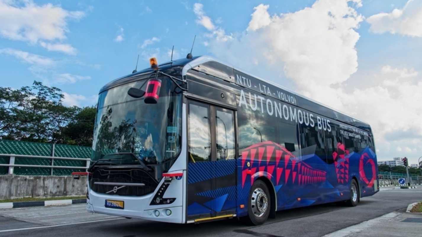 Autonomer Linienbus: Volvos E-Bus soll automatisiert durch Singapur rollen