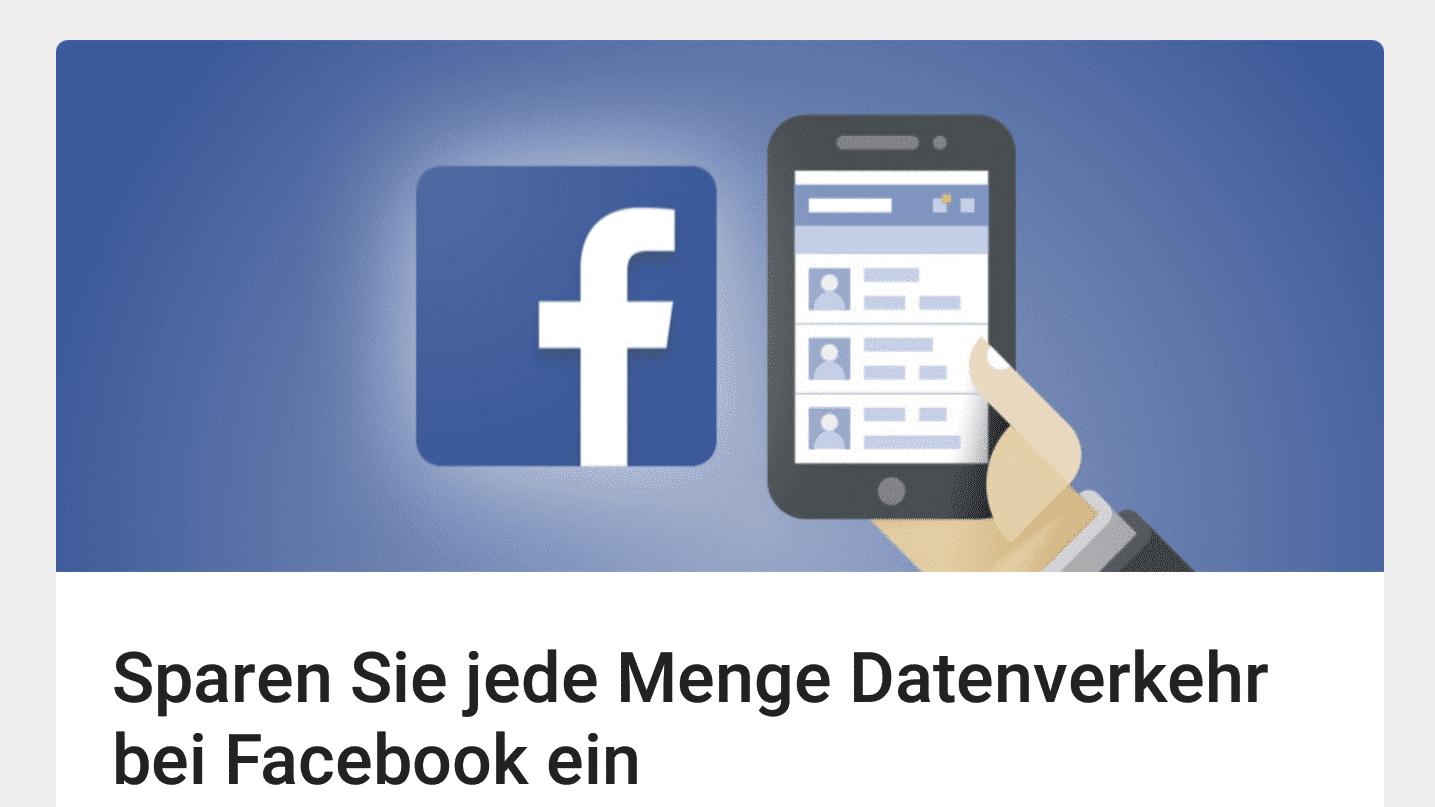 Datenspar-App Opera Max unterstützt Facebook