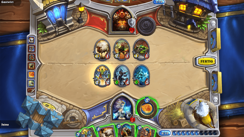 Blizzard -  Hearthstone ab sofort für Smartphones optimiert