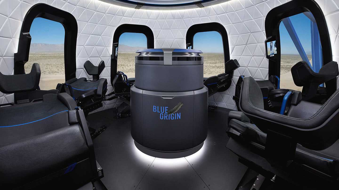 Jeff Bezos' Blue Origin: Weltraumtourismus ab 200.000 US-Dollar