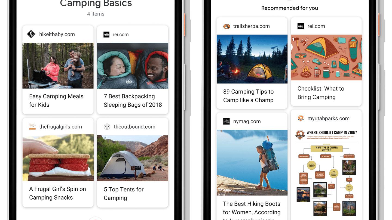 Google überarbeitet (Bilder-) Suche und App