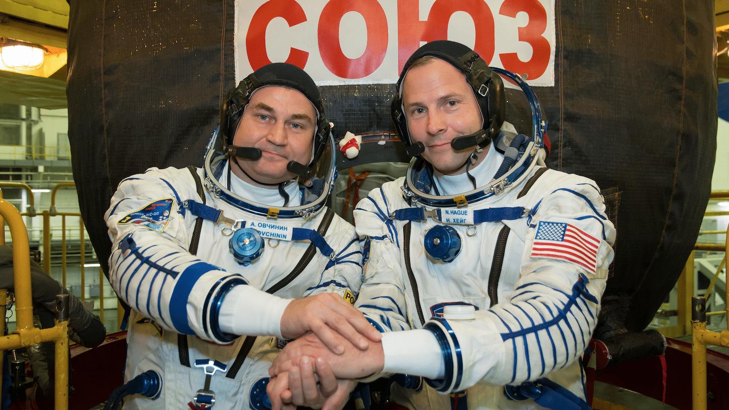 Sojus-Crew landet sicher nach Fehlstart