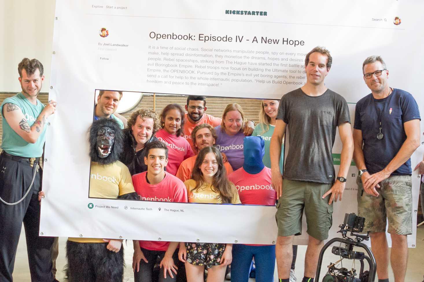 Diese jungen Menschen entwickeln Openbook.