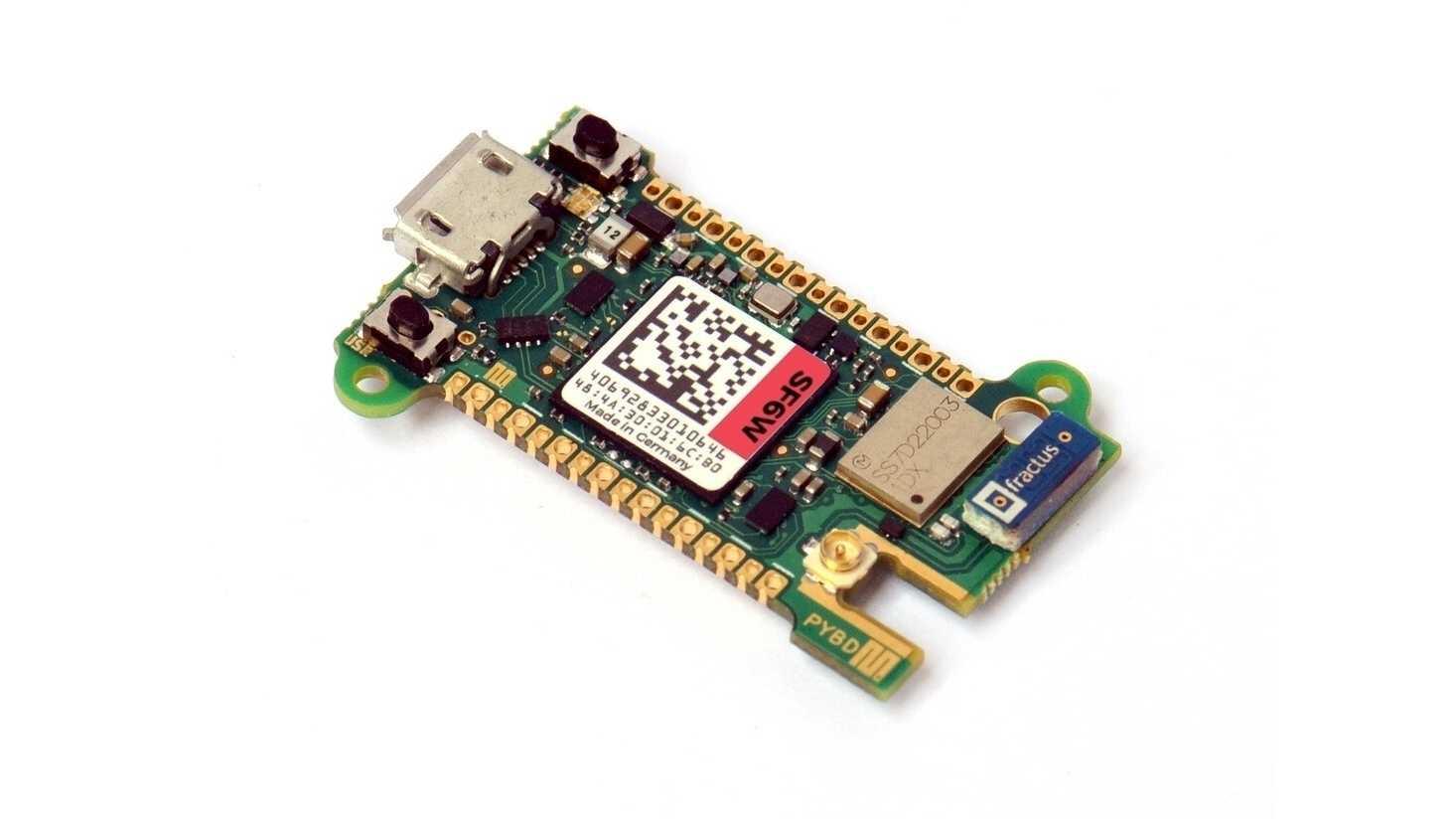 pyboard D mit STM32F767 und WiFi/BT.