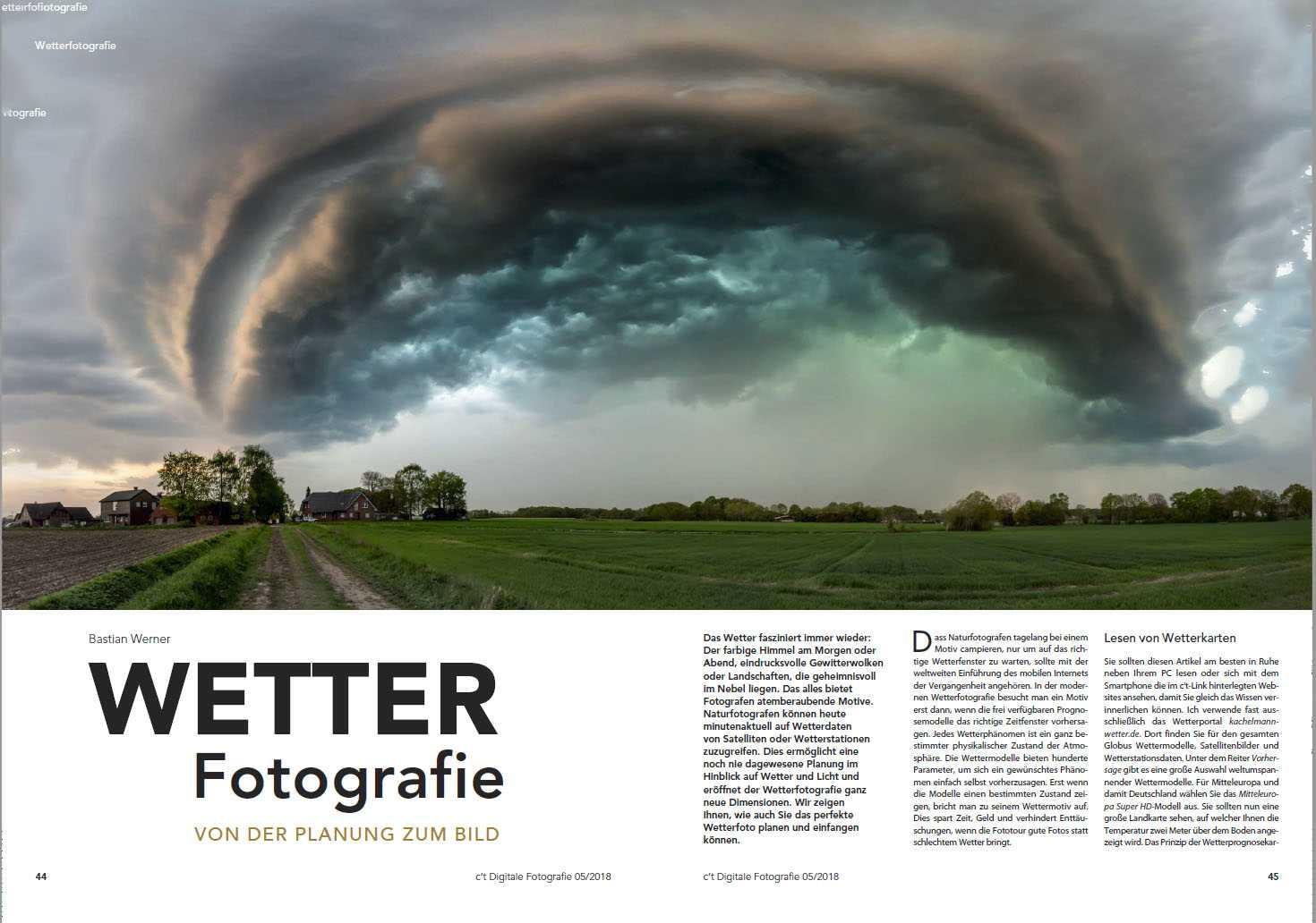 Das Wetter liefert eindrucksvolle Motive. Wir zeigen Ihnen wie Sie mit nützlichen Tools und Wetterkarten im Internet zum Stormchaser werden.