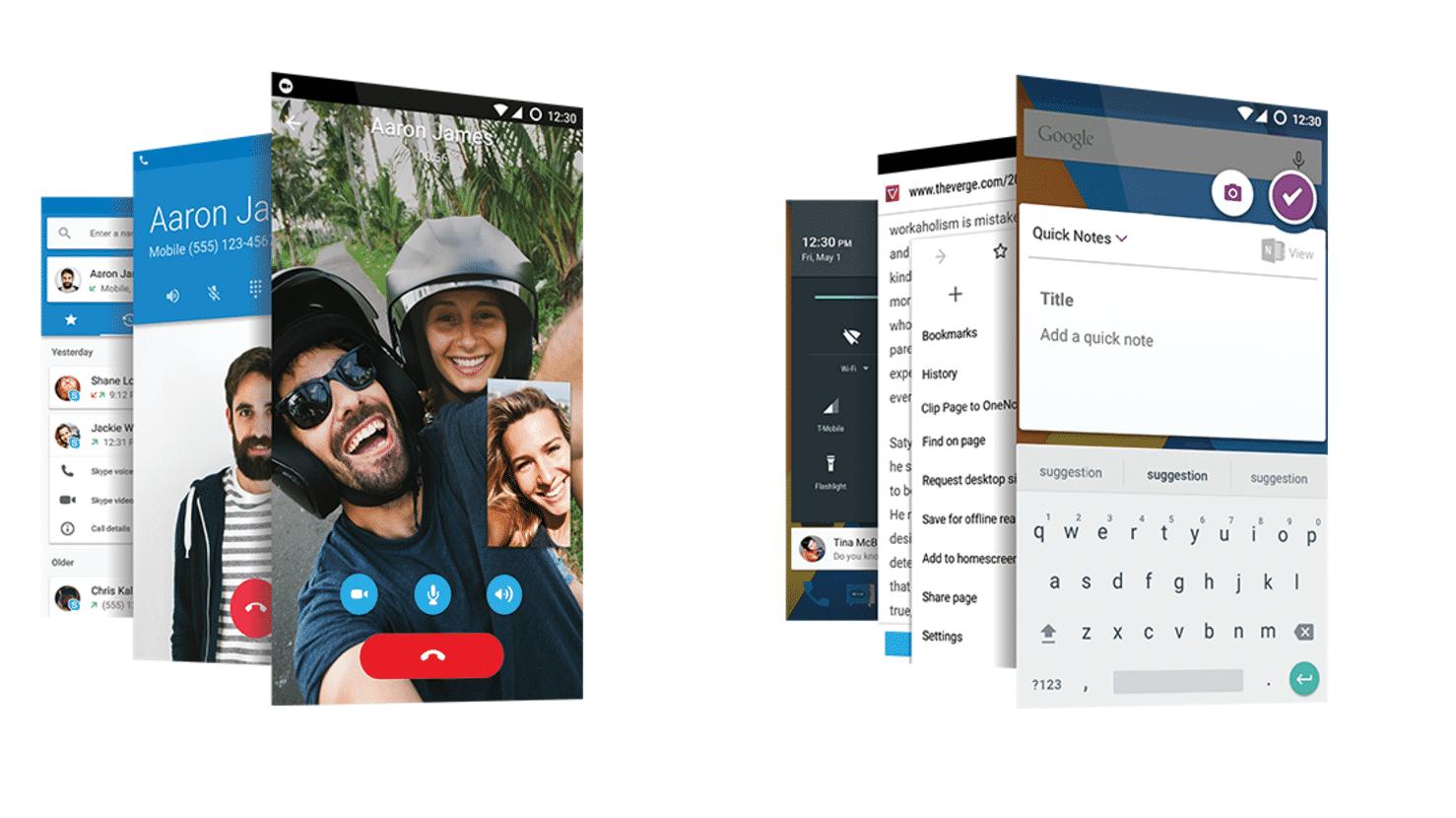 MWC 2016: Cyanogen Mods: Microsoft bohrt Android auf