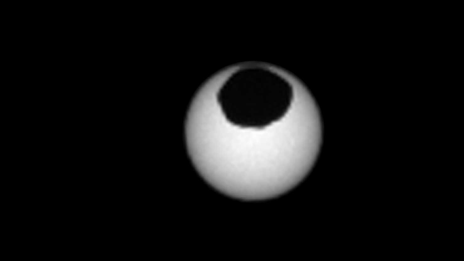 Mars-Rover Curiosity: Zwei Sonnenverfinsterungen in wenigen Tagen