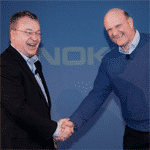 Stephen Elop und Steve Ballmer