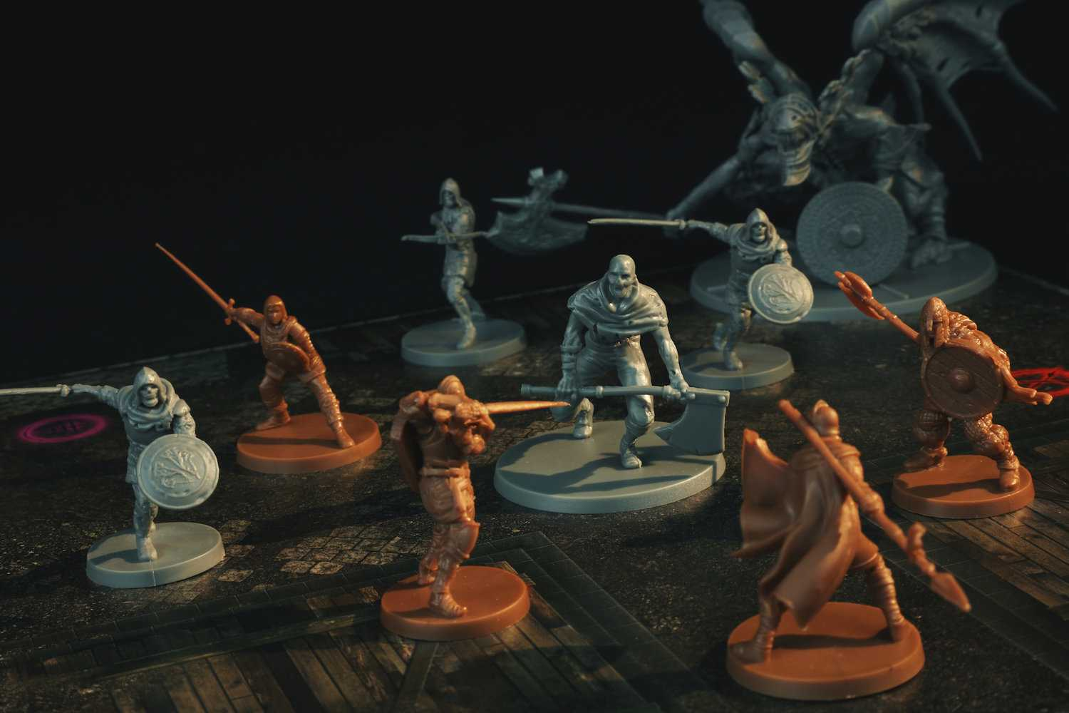 c't zockt LIVE ab 17 Uhr: Dark Souls - The Boardgame