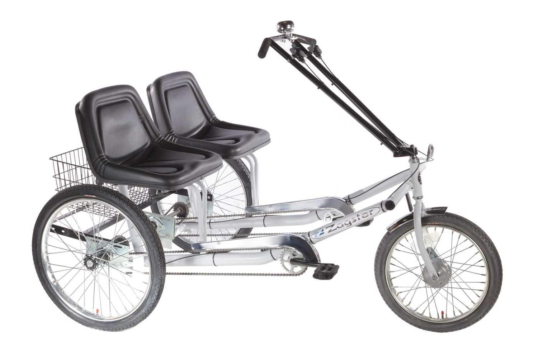 Doppelsitzer-Dreirad