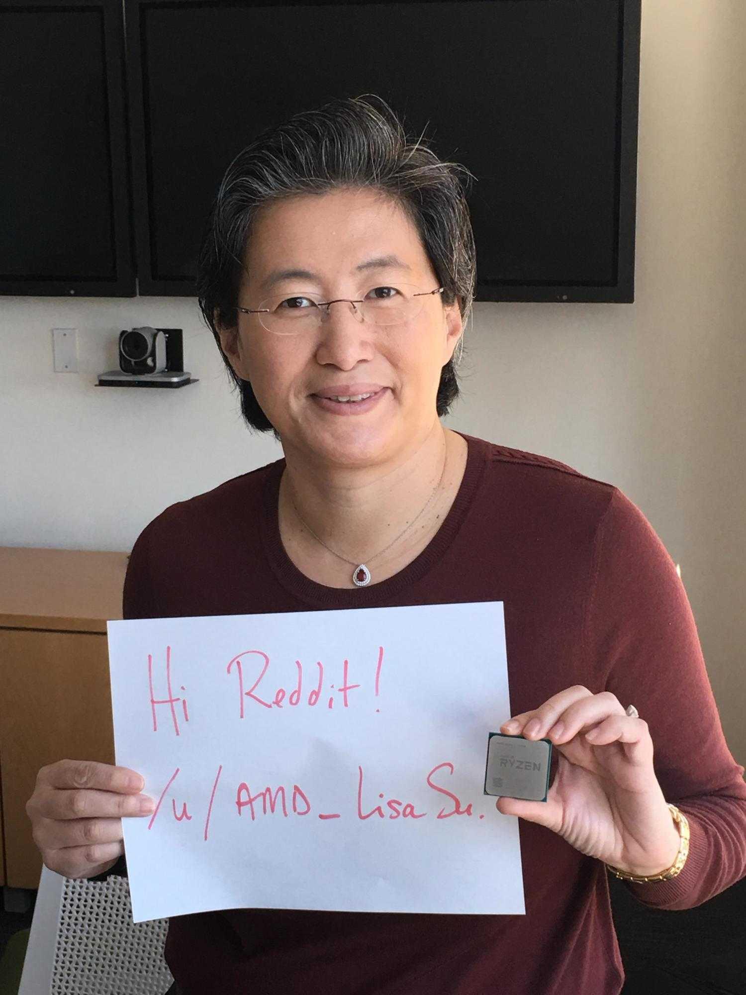 AMD-Chefin Lisa Su verspricht auf Reddit, dass noch viel optimiert werde.