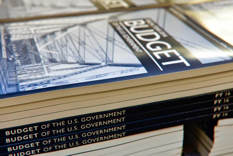 Gedruckte Ausgabe des Budget-Antrags 2016