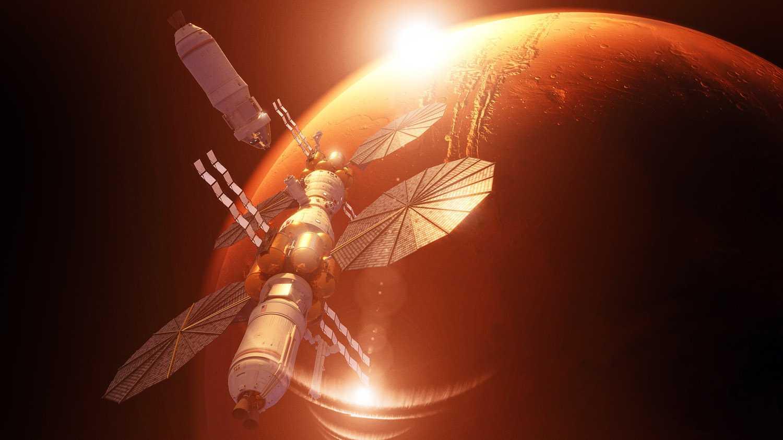 Lockheed Martin: Mars Base Camp als Basislager für Mars-Mission