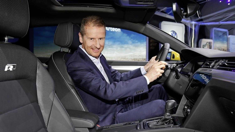 """VW-Chef kritisiert Politik und fordert eine """"echte Agenda Auto"""""""