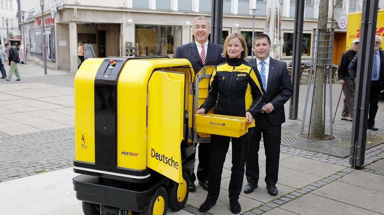 Deutsche Post stoppt Paketkästen für Privathäuser und Zustellroboter Postbot