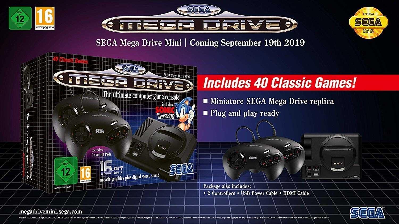 Sega Mega Drive Mini: Retro-Konsole erscheint im September