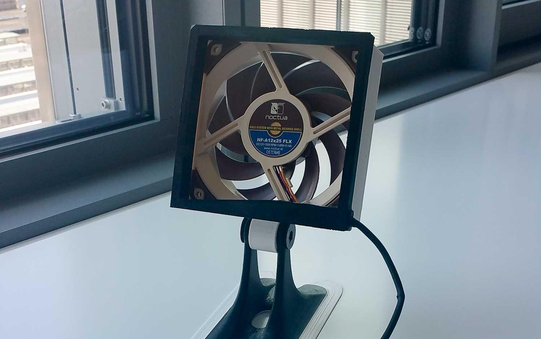 Tischventilator aus Computerlüfter