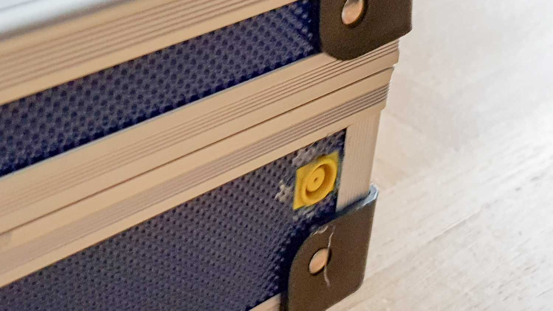 Netzteilanschluss des Raspberry-Pi-Koffer