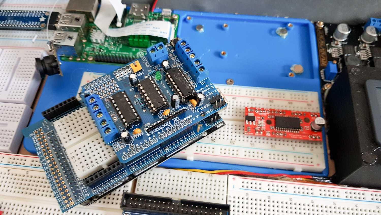 Magnetisch austauschbarer Arduino des Raspberry-Pi-Koffer