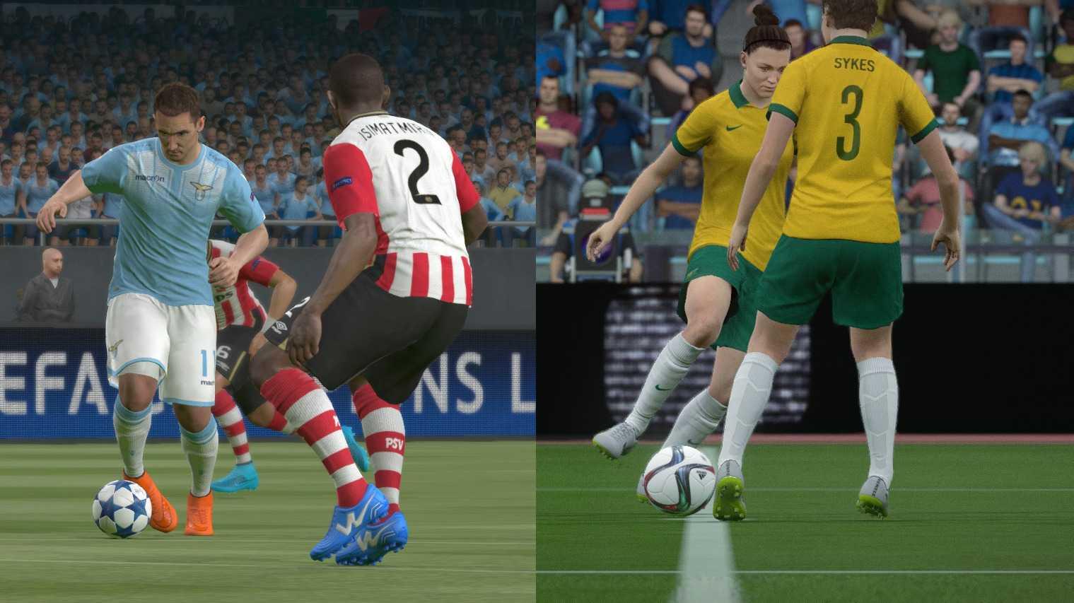FIFA 16 gegen PES 2016