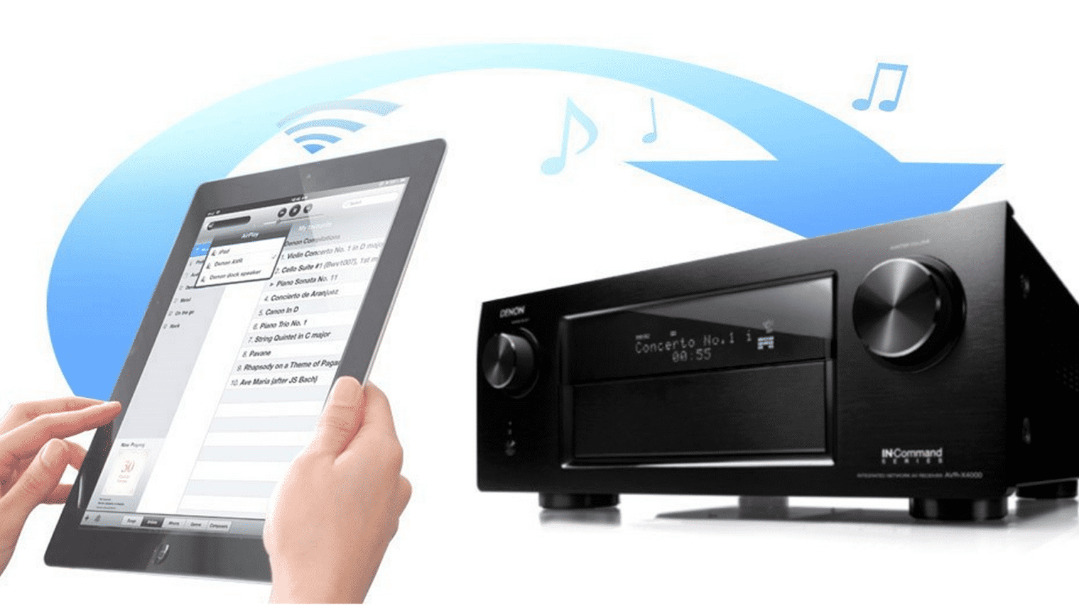 AV-Receiver verschlucken sich an Apples AirPlay