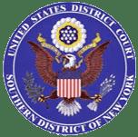 Rundsiegel des US District Court Southern New York