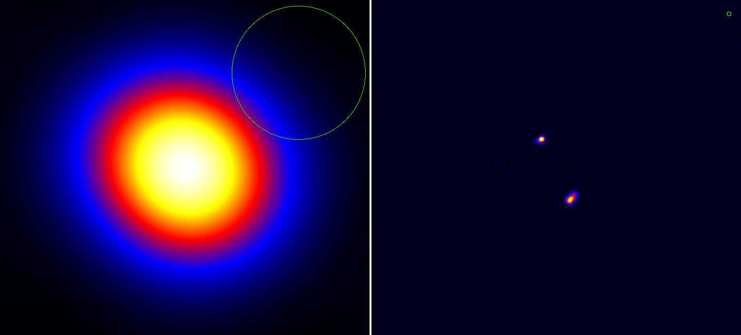 Der Quasar 3C 196
