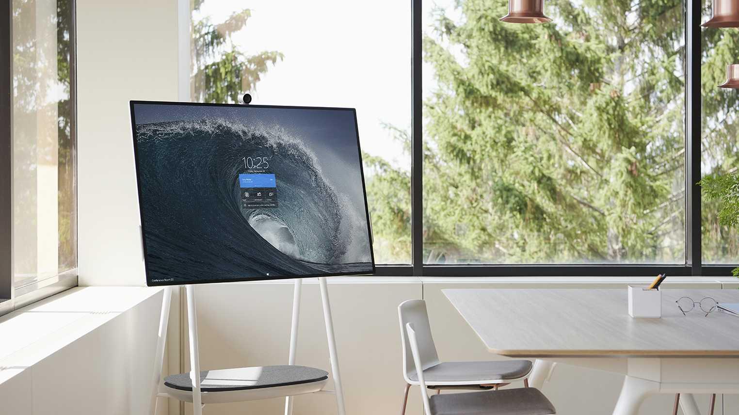 Riesentablets Surface Hub 2S und 2X mit Wechselprozessor