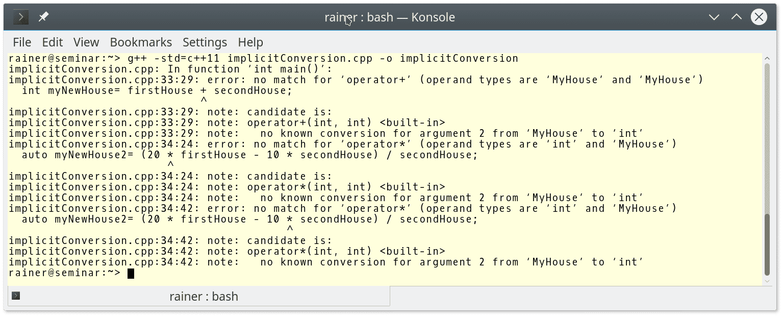 C++ Core Guidelines: Mehr Regeln fürs Überladen